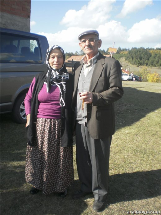 Dedem ve babaannem...
