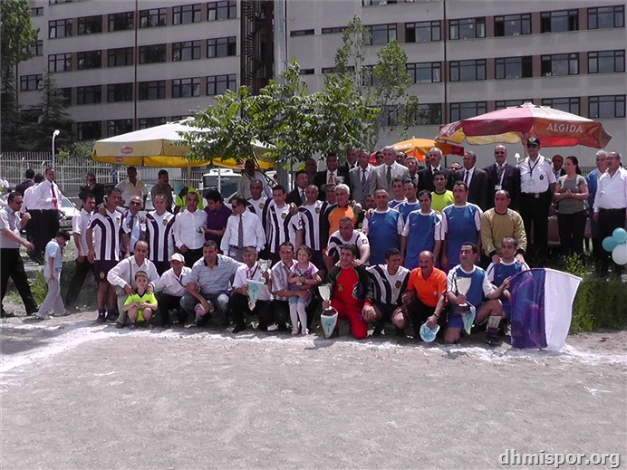2011 futbol turnuva final ve kupa töreni...
