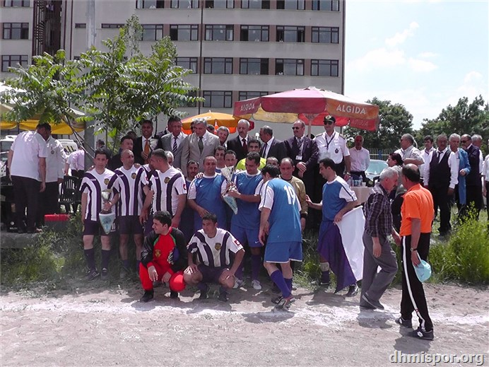 2011 futbol turnuva final ve kupa töreni...