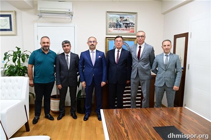 DHMİ Genel Müdür Yrd. Sn. Erhan Ümit EKİNCİ...