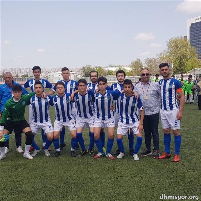 DHMİ Spor Kulübü Futbol Takımı...