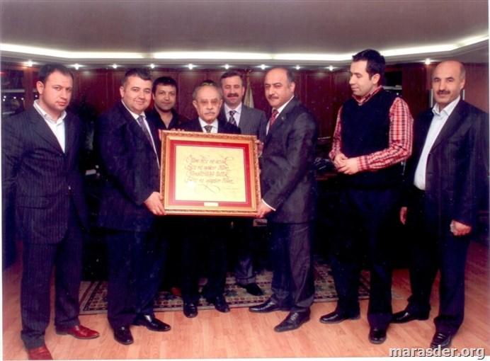 Güngören Belediye Başkanı ziyareti 2009...