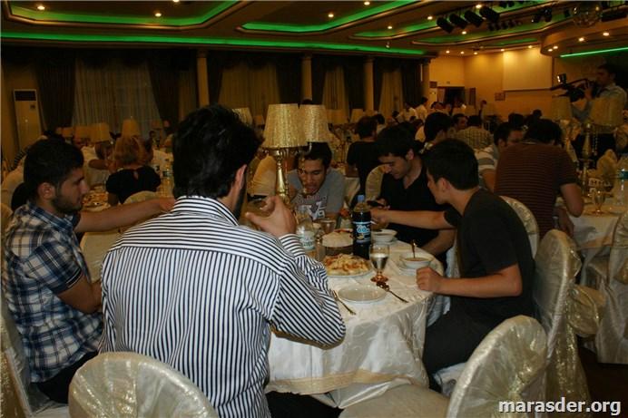 "MARAŞDER VI.""Geleneksel İftar"" Programı 04.08.2012......"