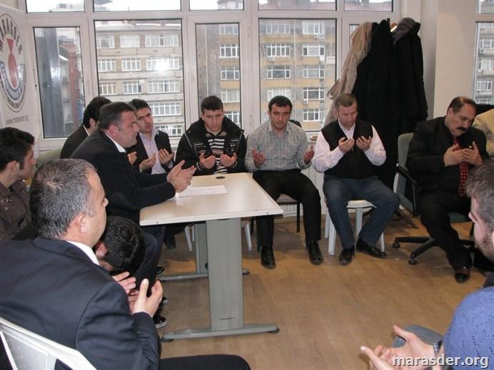 Merhum Kenan Seyithanoğlu Hatme-i Şerif 16.03.2013 Maraşder......